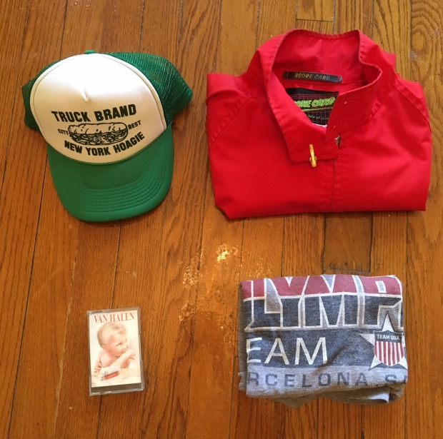 Vintage Trucker Hat, Vintage Golf Jacket