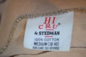 Vintage Hi-Cru by Stedman T-shirt tag