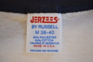 Jerzeees by Russel Tag 1980s