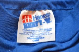 1990s Hanes Beefy T Tag