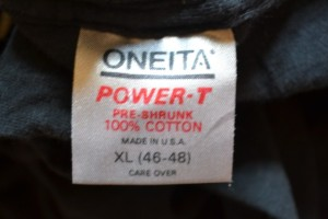 1990s Oneita Power-T Tag