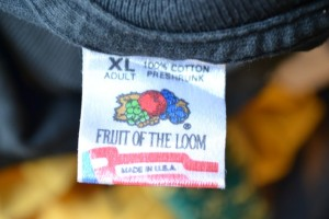 1990s Fruit of the Loom Tag