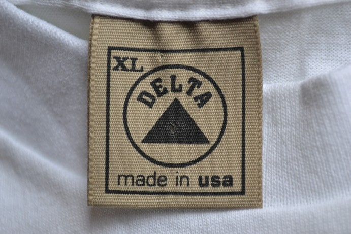 1990s Delta T Shirt Tag Take Pause