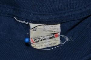 Heavily worn Screen Stars tag
