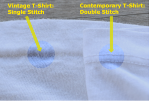 What is a single stitch t-shirt?