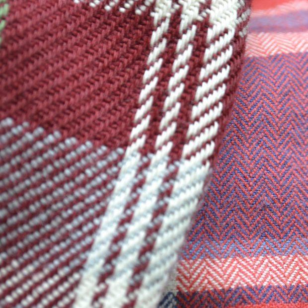 Vintage flannel via Comma Vintage