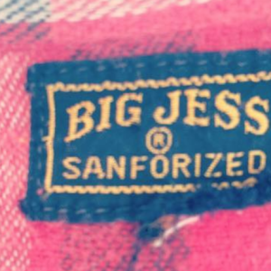 Big Jess label via Comma Vintage