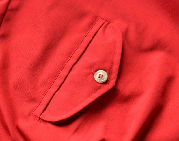 Flap Pocket on a Vintage Harrington Jacket