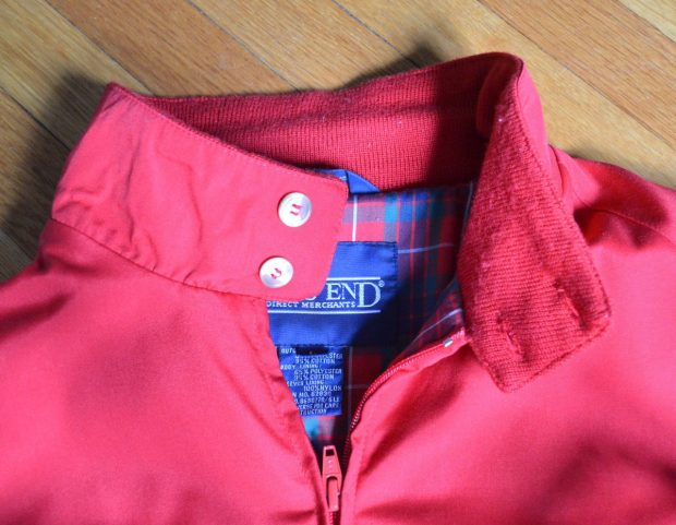 Harrington Jacket Collar