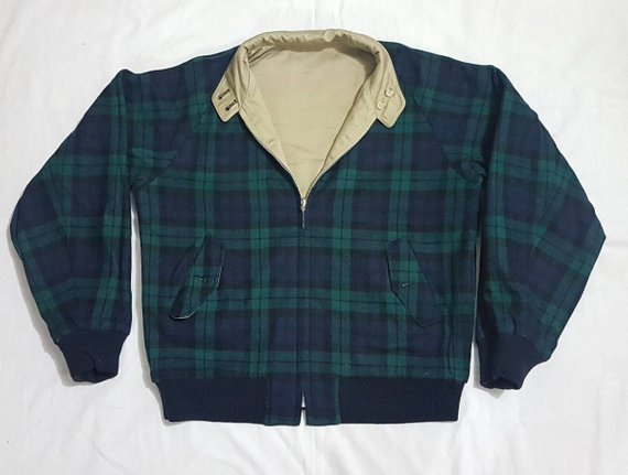 Vintage reversible Harrington jacket