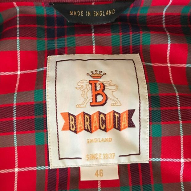 Baracuta Made in England Logo