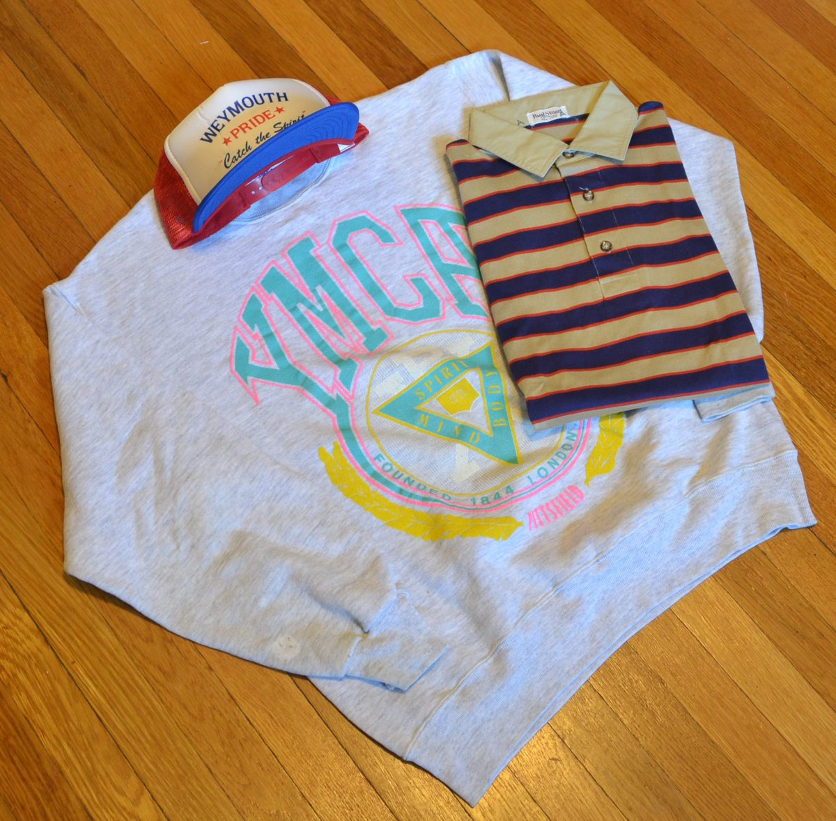 Colorful YMCA Crewneck