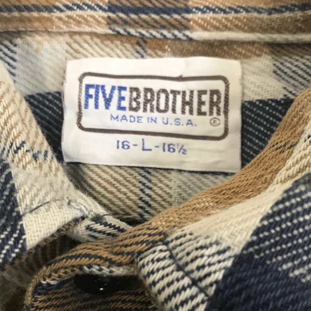 Five Brother Flannel Tag
