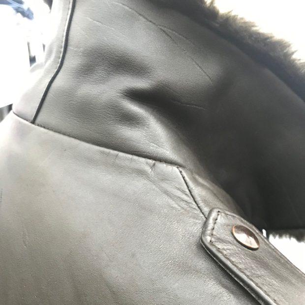 Details on a Vintage Bomber Jacket